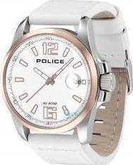 Police Lancer White Strap Watch PL12591JSSR-01