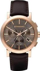 Burberry Chronograph Brown Leather Strap BU1863