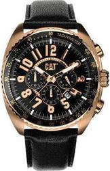 CAT Airactive Chronograph Black Leather Strap A319335139
