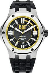 CAT Mens Yellow Steel Navigo Watch A114121127