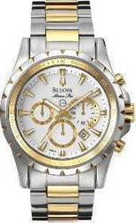 Bulova Marine Star Stainless Steel Two Tone - 98B014