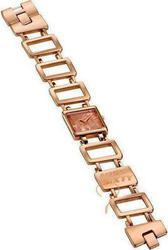 Miss Sixty Gold Sand Lady Total Rose Gold Logo on Bracelet WM2N9003