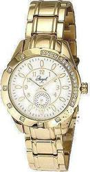 Angel Crystal Ladies Gold Stainless Steel Bracelet A10052102
