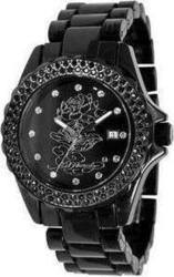 Ed Hardy Ladies Dulcet Lotus Black DU-LO