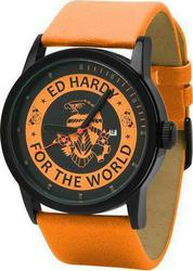 Ed Hardy Unisex Watch Punked Orange PK-OR