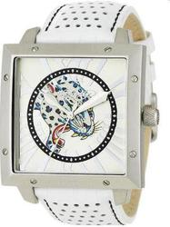 Ed Hardy Unisex Watch Defender Blue Leopard DE-BL