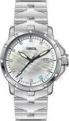 Venus Diamonds Date Stainless Steel VE-1316A1-54-B1