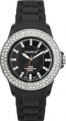 Avalanche Bliss Black Plasteramic Strap AV-107S-BK-44