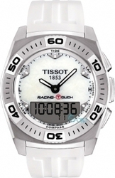 Tissot Racing-Touch White Rubber Strap T002.520.17.111.00