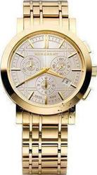 Burberry Chronograph Gold Stainless Steel Bracelet BU1757