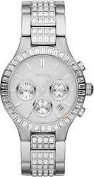 DKNY Chronograph All Crystal Stainless Steel Bracelet NY8315