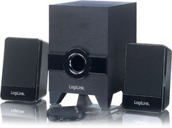 LogiLink SP0023 Active Speaker System Stereo with Subwoofer 2.1