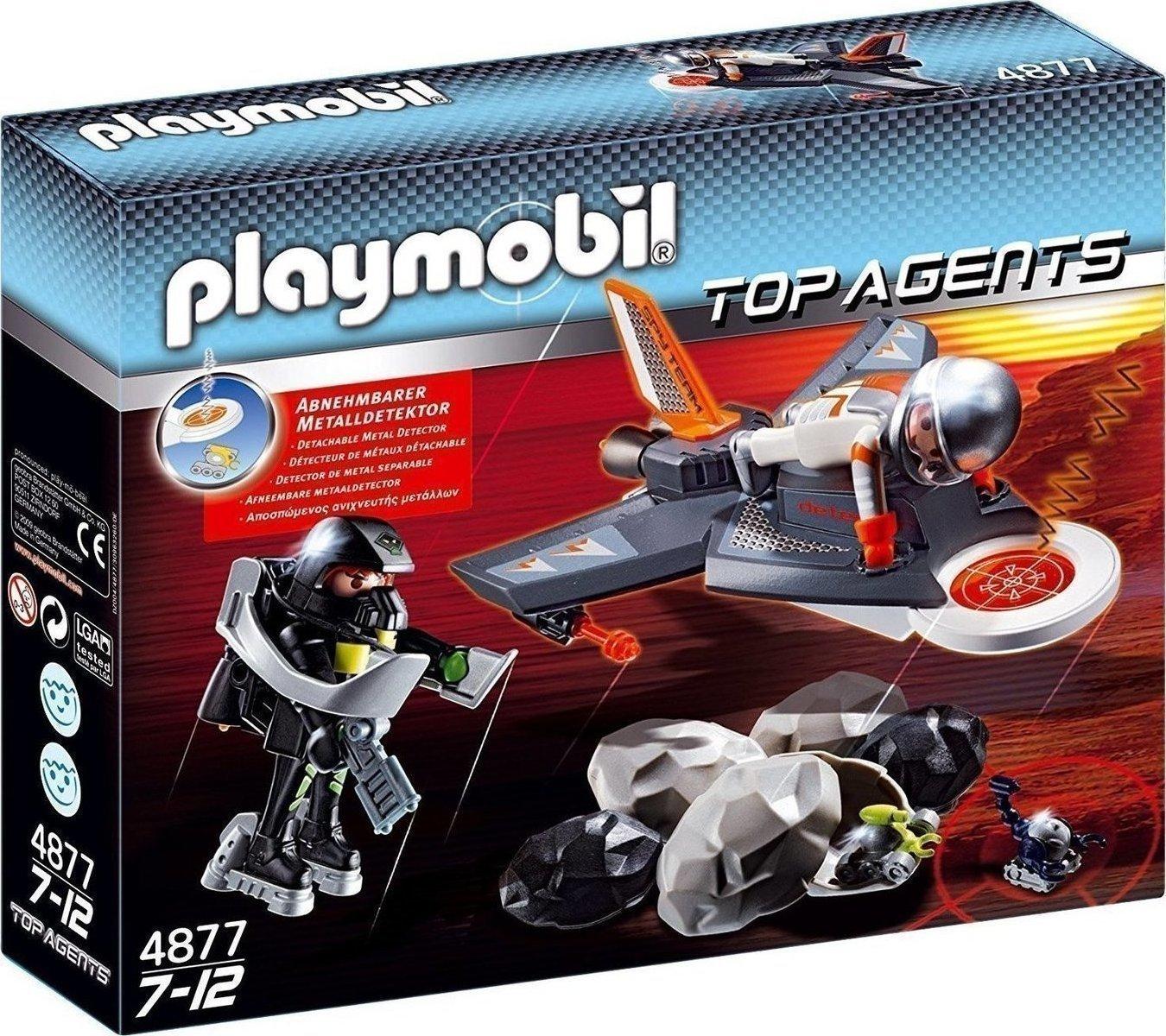 playmobil Αναγνωριστικό jet top agents 4877  skroutzgr