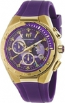 TechnoMarine Cruise Chronograph Purple Rubber Strap 110074