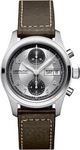 Hamilton H71566553 Field Khaki Leather Brown Chronograph Strap - Automatic Chrono