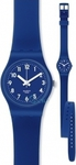 Swatch Double Blueberry Girl Rubber Strap LN148