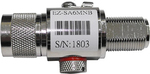 E-zy EZ-SA6MNB 0-6GHz Lightning Arrestor N-Male to N-Female bulk