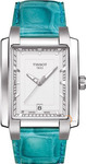 Tissot TXL Ladies Turquoise Leather Strap T0613101603102
