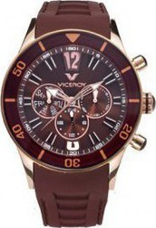 Viceroy Multifunction Brown Rubber Strap 42110-45