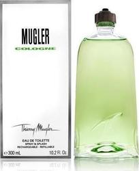 Mugler Cologne Splash & Spray Refillable Eau de Toilette 300ml