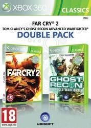 Far Cry 2 & Tom Clancy's Ghost Recon Advanced Warfighter Double Pack XBOX 360