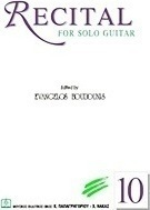 Recital for Solo Guitar
