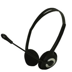 Approx Lightweight Stereo Headset Black APPHSVLV2