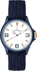 Toy Watch Saint Tropez Blue Fabric Strap - ST01DB