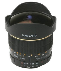 Samyang 8mm f/3.5 AS IF MC Fisheye CS (Olympus, 4/3)