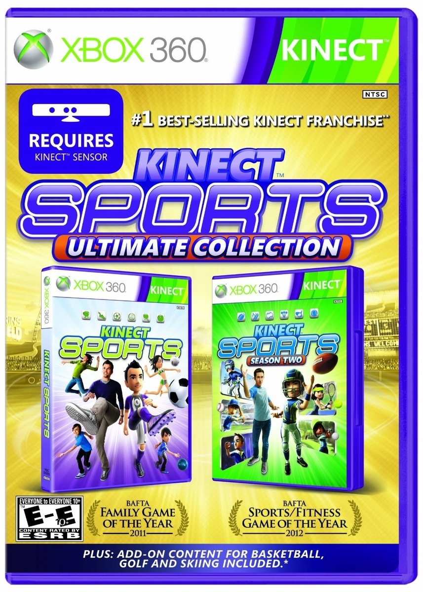 Ultimate Collection Jpg: Kinect Sports: Ultimate Collection XBOX 360