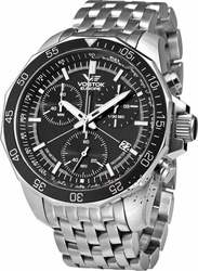 Vostok Europe Rocket N1 Grand Chronograph Stainless Steel Bracel 6S30/2255177B