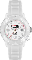 Ice-Watch FMIF Classic Big Big White Rubber Strap - FM.SI.WE.BB.S.11