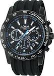 Lorus Black Steel Chrono RT317BX9