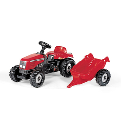 Rolly Toys Massey Ferguson Rolly Kid Pedal Tractor & Trailer