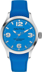 Nautica Fashion Active BFD 102 Blue Silicon Strap - A11582G