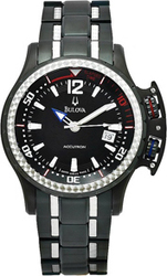 Bulova Accutron 65B006 Black Steel