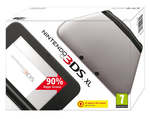 Nintendo 3DS XL Silver and Black