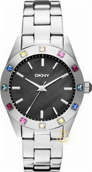 DKNY Nolita with Colored Crystals Women's watch NY8718