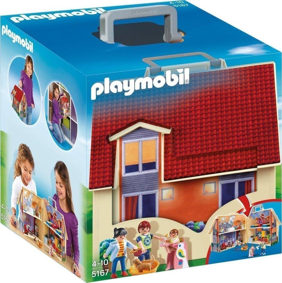 d494898593 Playmobil Μοντέρνο Κουκλόσπιτο-Βαλιτσάκι