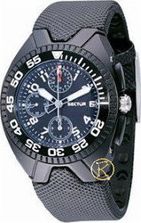 Sector Chronograph Black Rubber Strap R3251985035
