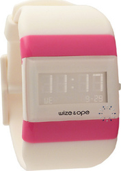 Wize & Ope Classic Collection White Rubber Strap