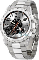f885955ab417 Lotus Watches Stainless Steel Bracelet Chronograph L9975-1