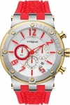 Vogue Feeling Chronograph Red Rubber Strap