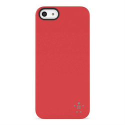Belkin Shield Matte Case Red (iPhone 5/5s/SE)