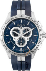 Gant Ashton Chrono Blue Dial And Rubber Strap