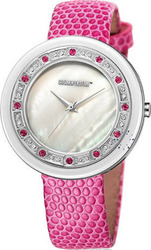 Cosmopolitan Crystal Pink Leather Strap CM16203