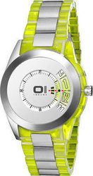 Binary OI Turning Disk Unisex Watch AN08G01