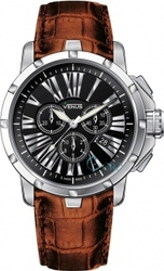 Venus Genesis Brown Leather Chronograph VE-1311A1-12-L6