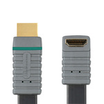 Bandridge Flat HDMI Cable HDMI male - HDMI 90° male 2m (BVL1332)