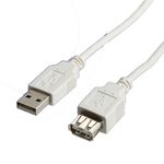 Roline USB 2.0 Cable USB-A male - USB-A female 3m (11.99.8961)